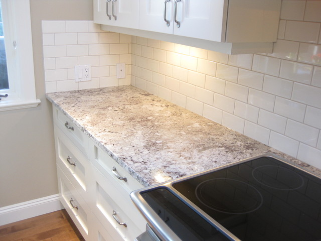 Alaska white granite counter top