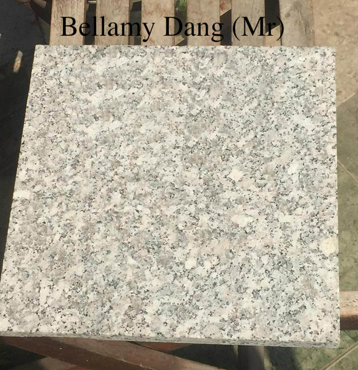 White Granite top surface flamedSL1