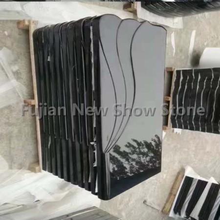 Shanxi Black Granite Gravestone slab
