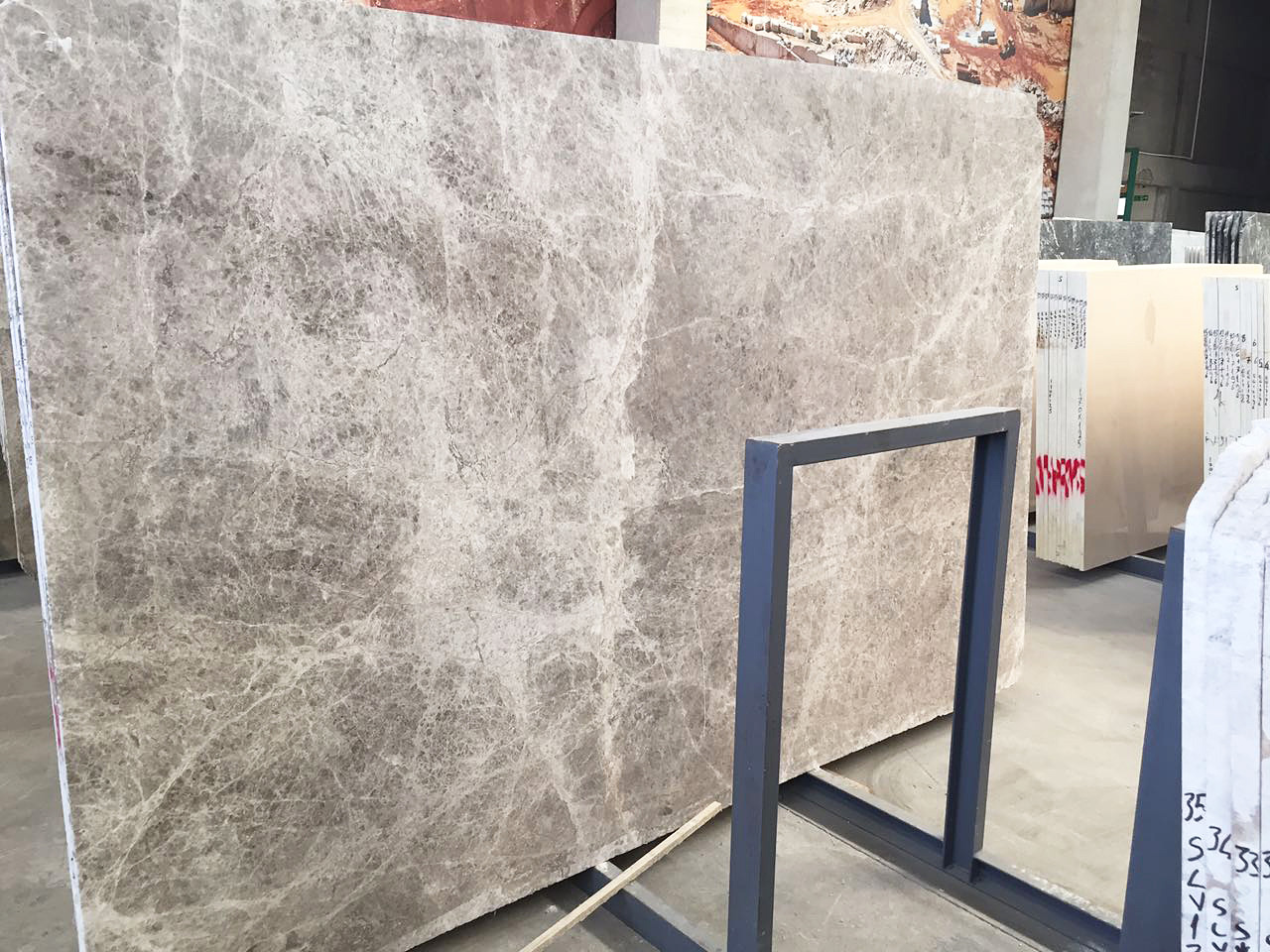 Tundra Grey Marble Slabs