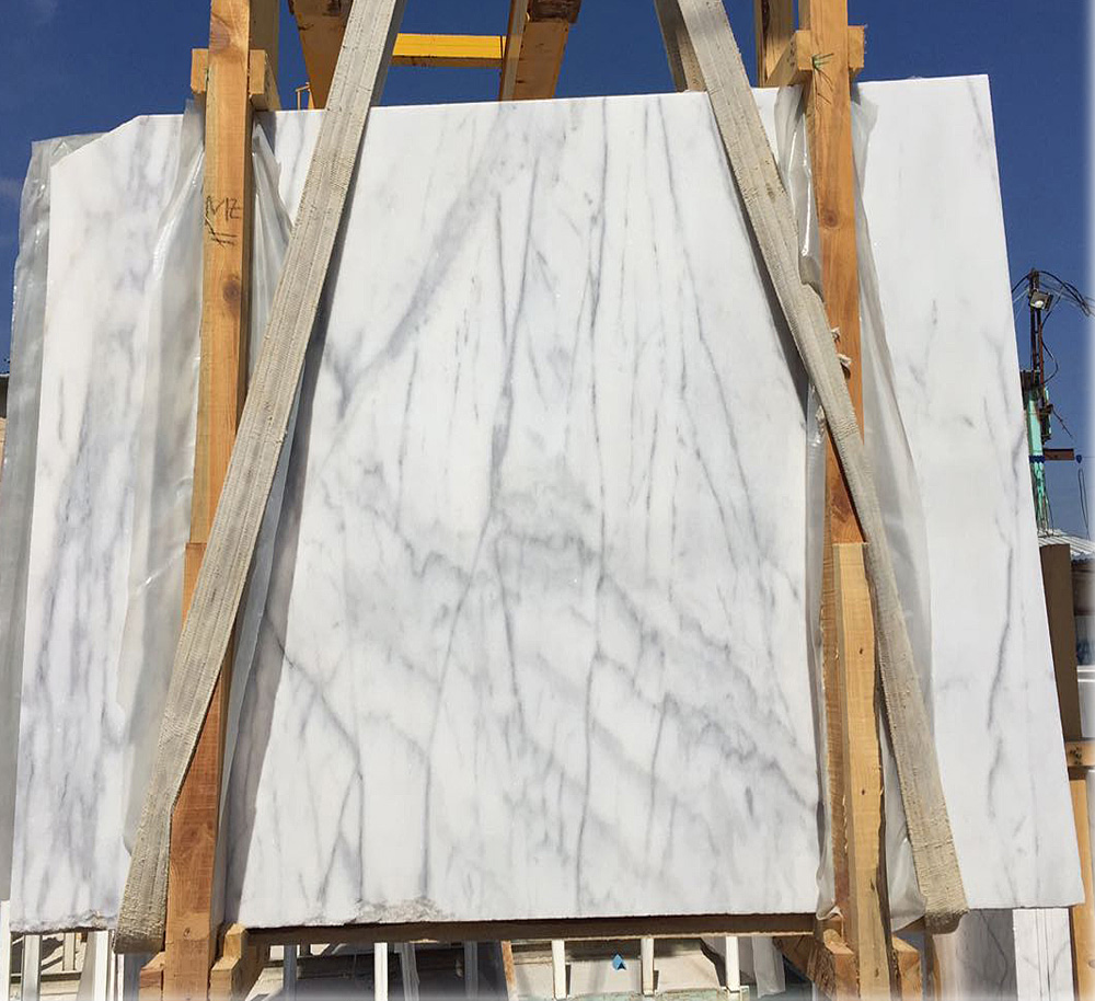 Turkish Arabescato White Marble Slab