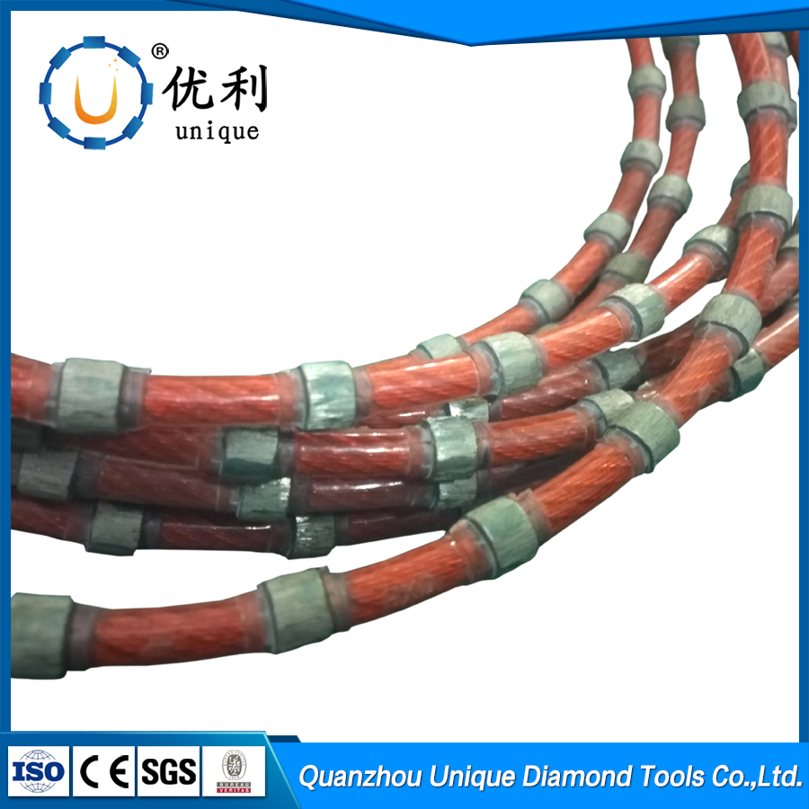diamond wire saw rope diamond tools for granite marble sandstone stone cutting