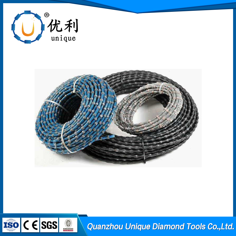 China wholesale diamond wire rope saw for granite marble sandstone Concrete wire saw cutting