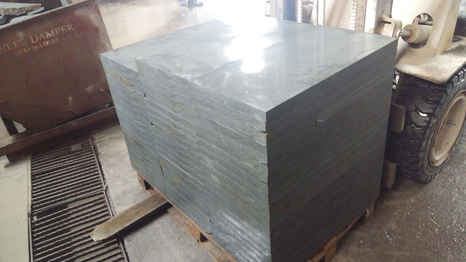 green diabase  granite slab
