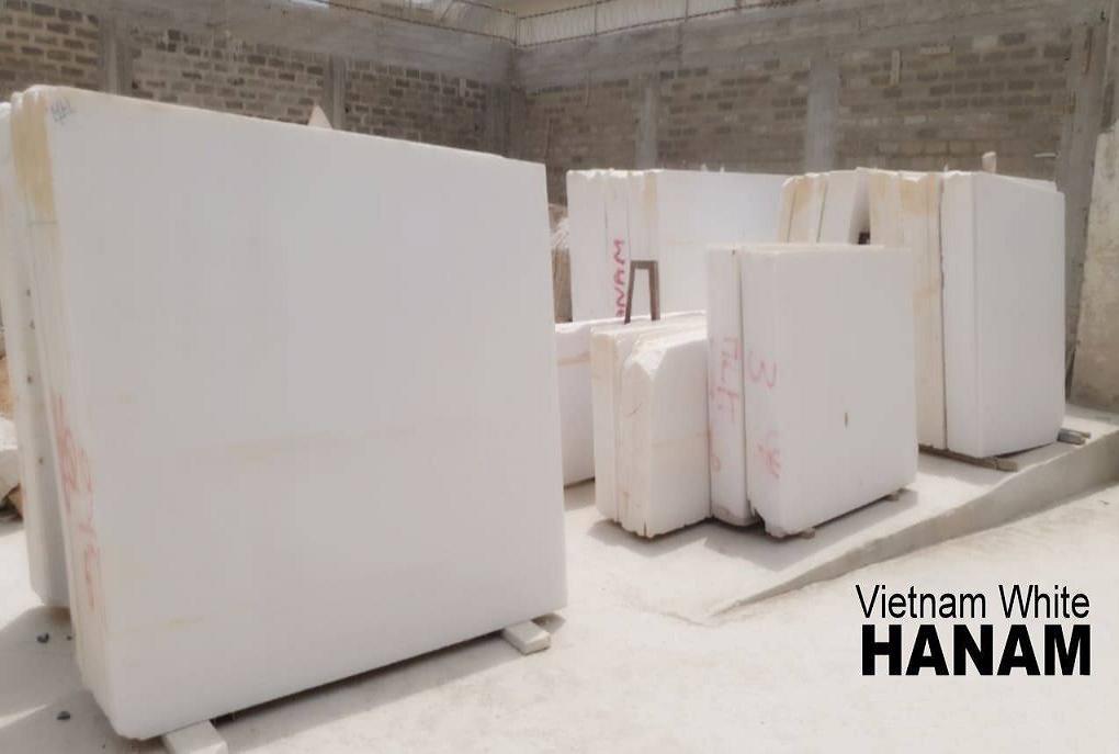Vietnam Pure White Marble Slabs