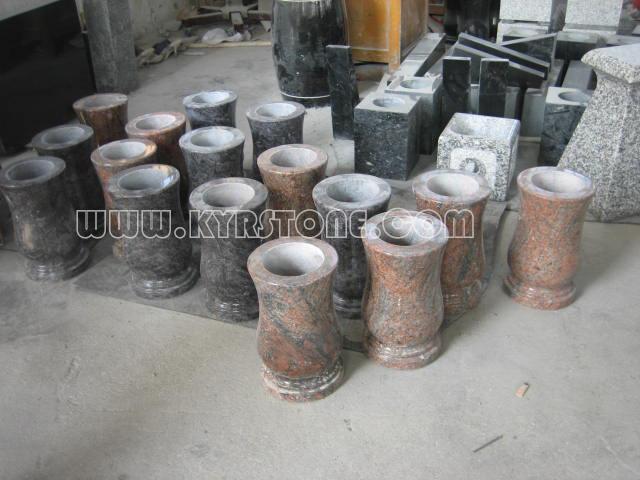 Kyrstone Granites Vases Tombstones