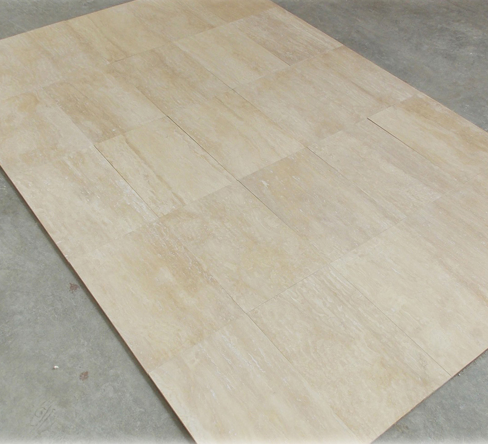 Ivory Travertine Vein Cut Tile