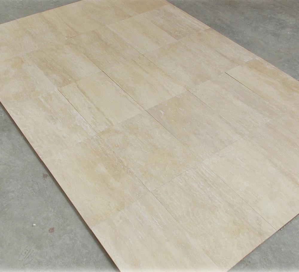 Ivory Travertine Vein Cut Tile