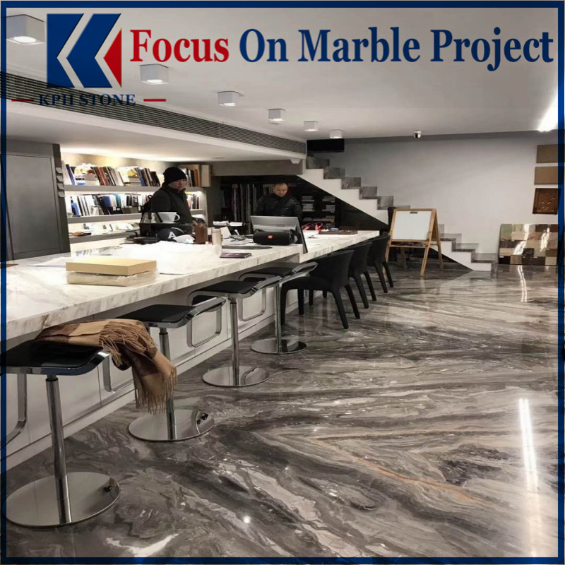 Venice Brown Marble Interior Floor Decoration
