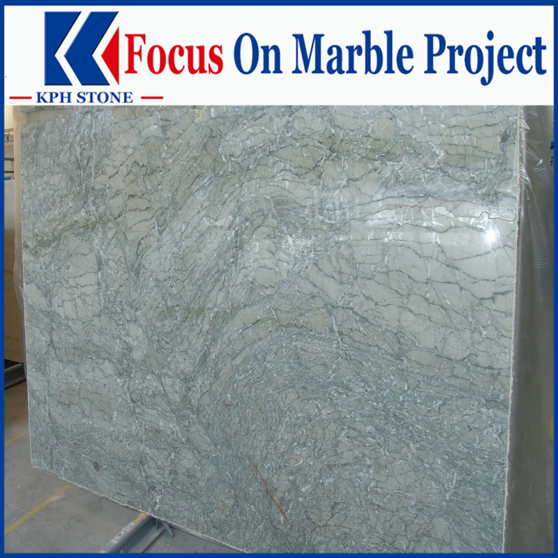 Antique Verde Persia Marble slabs for Inter Continental