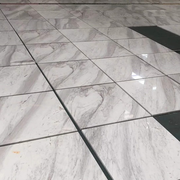 Volakas White Marble Interior Flooring Tiles