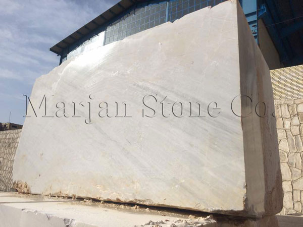 Cloudy Semi White Crystal Marble