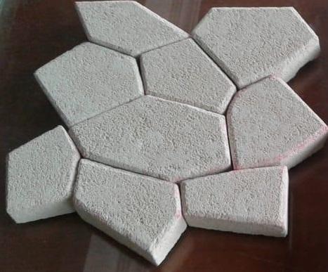 Bali White Limestone Random Pattern Cladding Stone