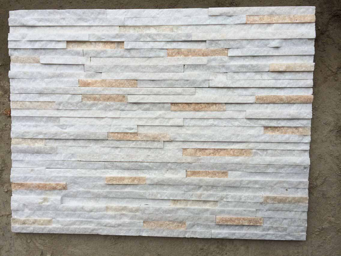White quartzite stone
