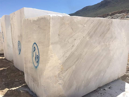 White Crystal Marble Blocks
