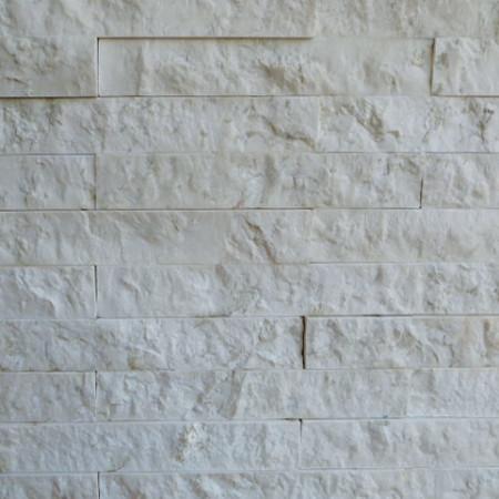 Iran White Marble Split Face