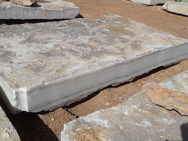 White Onyx Blocks