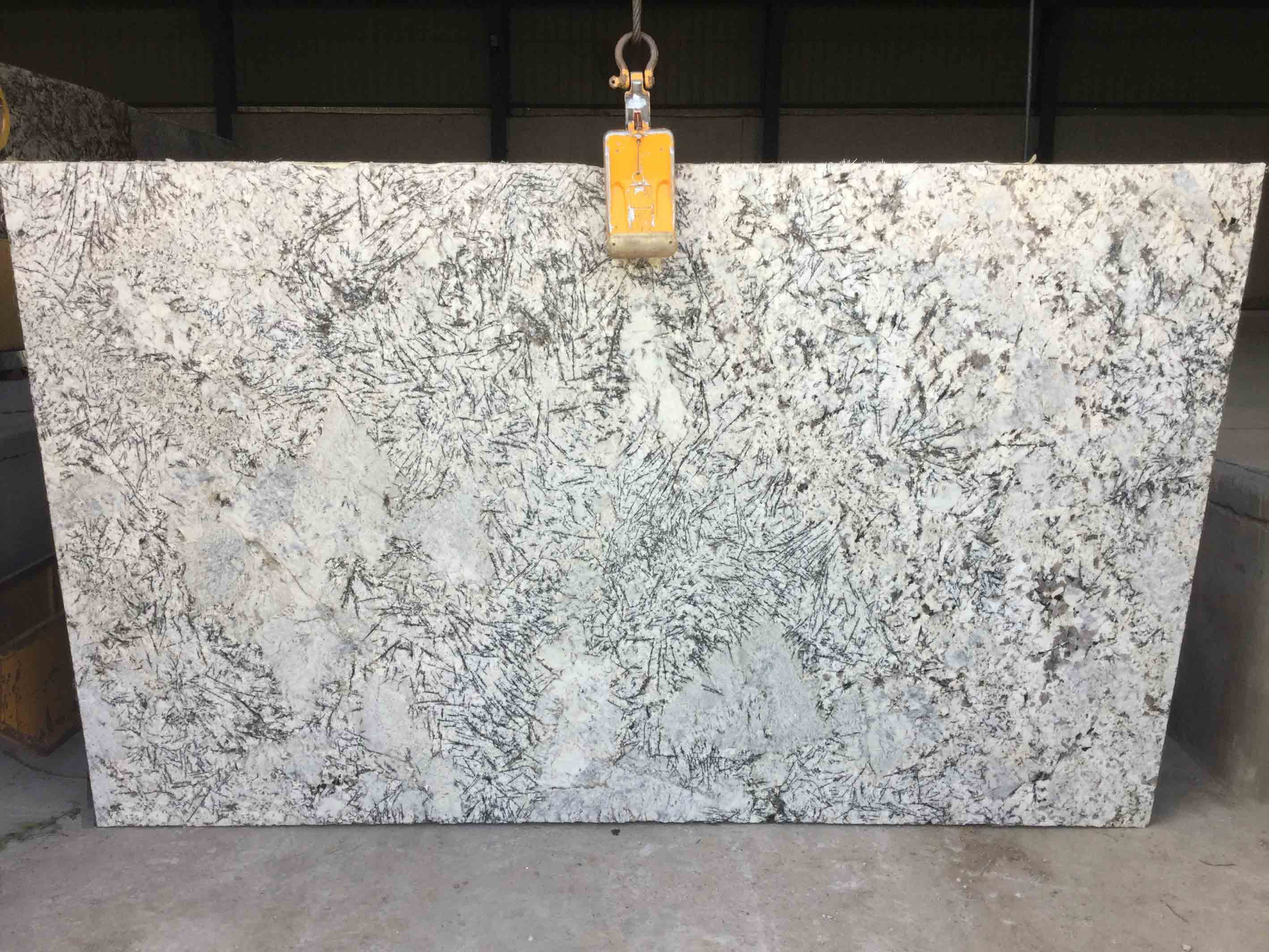 White Angel Granite Slabs