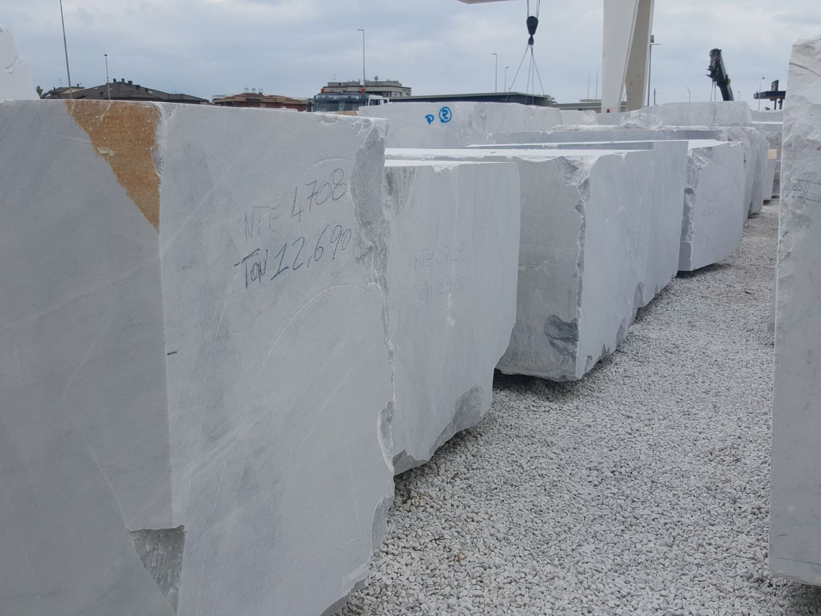carrara white block