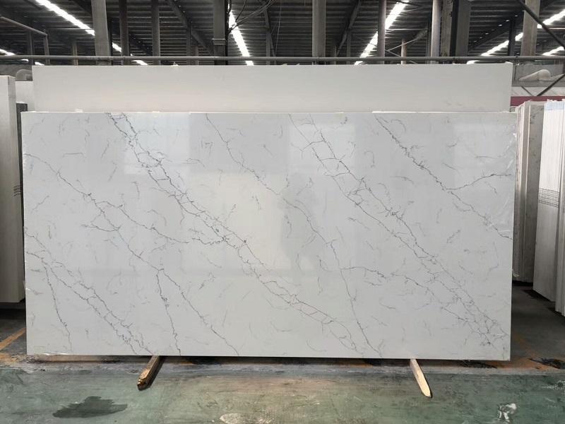 white marble effect quartz