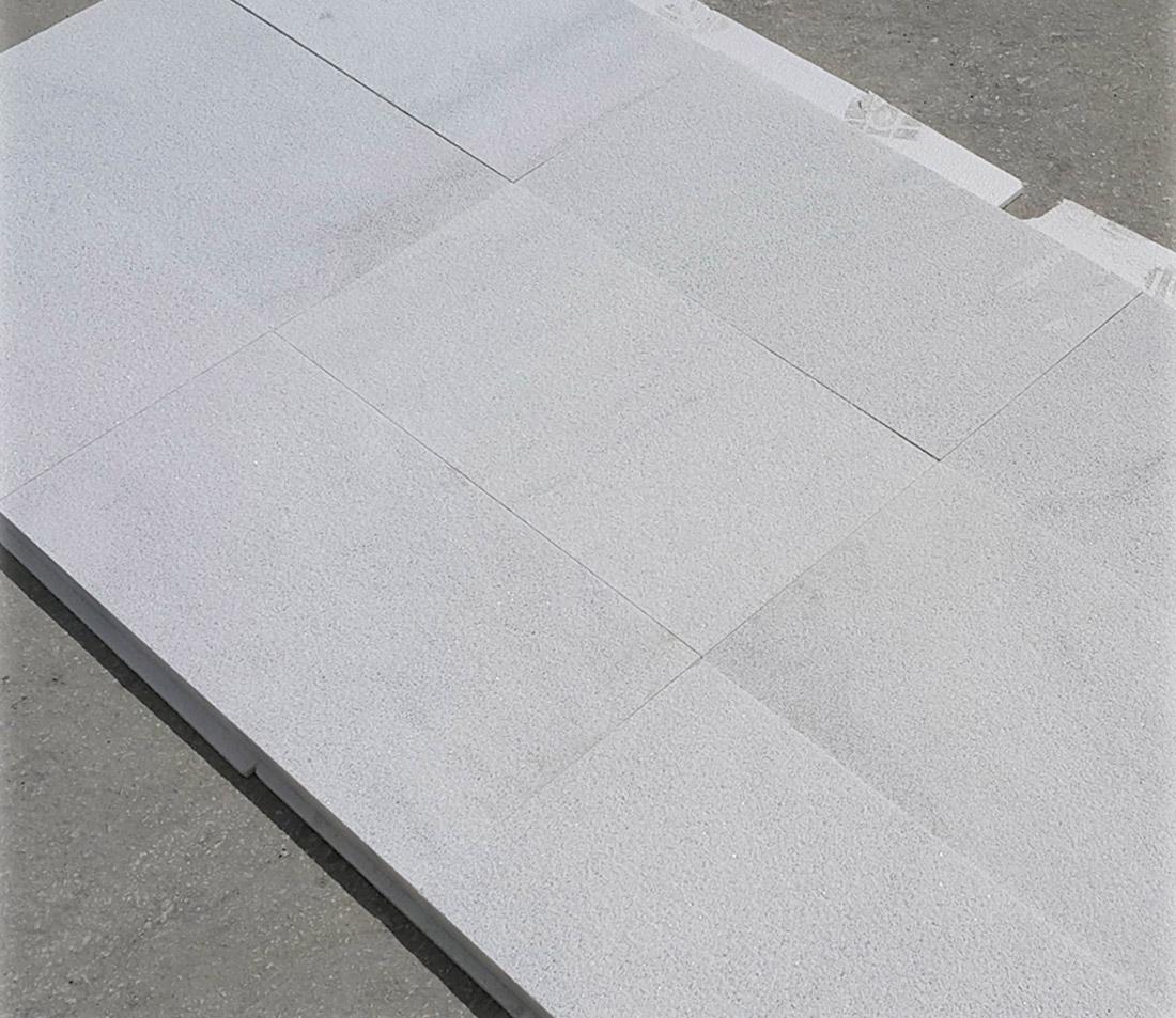 Turkish White Marble Sandblasted