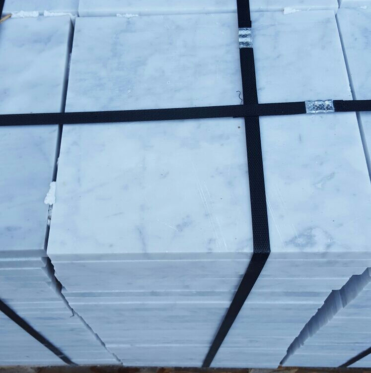 White Carrara Tiles stock
