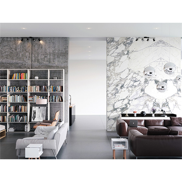 White Calacatta Marble Slab For Flooring