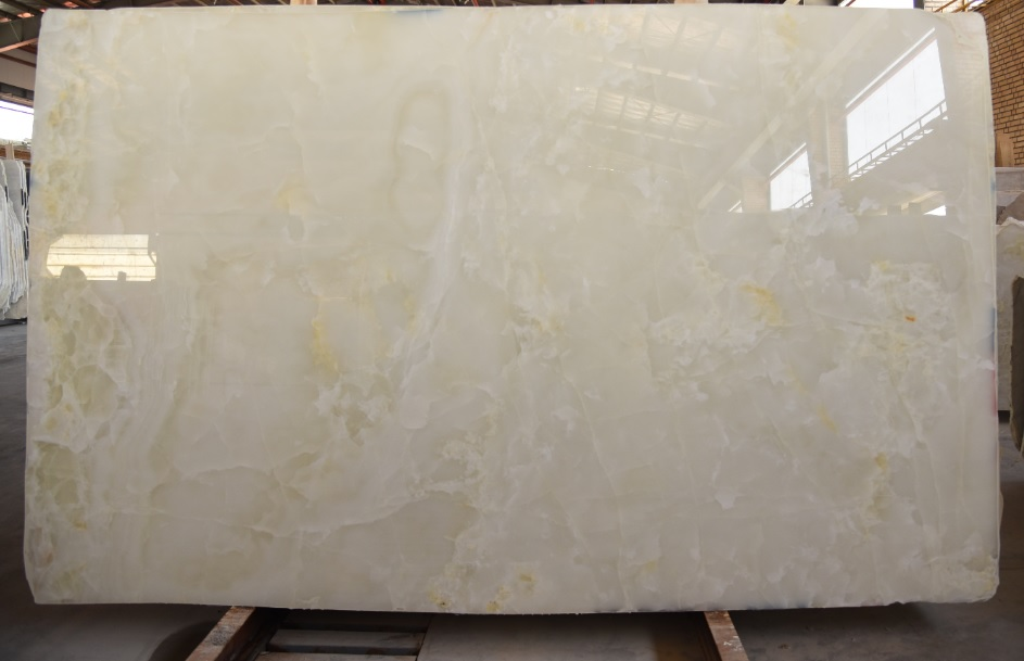 White Onyx Polished Slabs