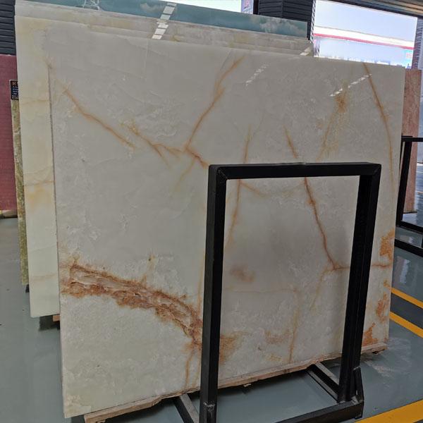 1.8cm White Onyx Big Slab