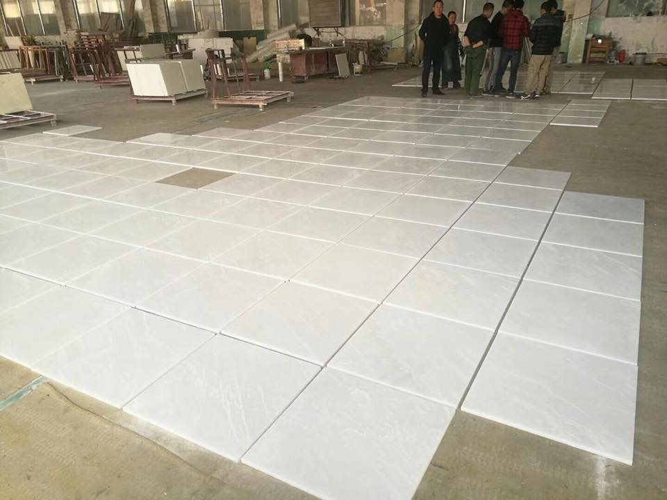 5A grade pure white onyx wall tiles