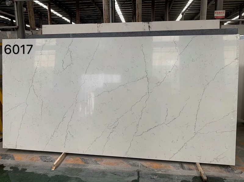 white quartz with veins