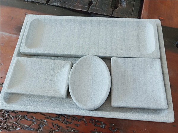 Natural White Sandstone Plate