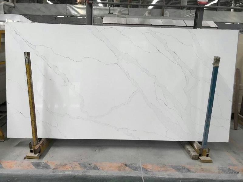 white statuary quartz