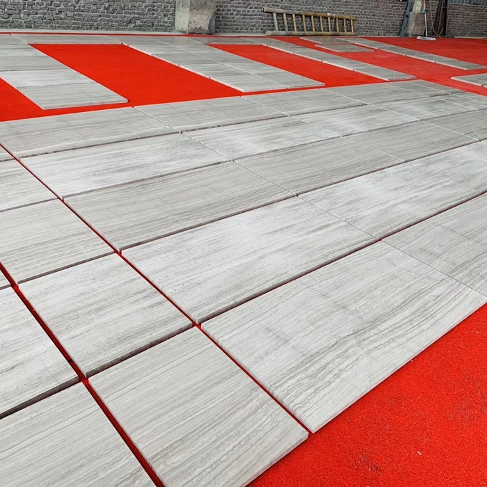 China Striato Argento Marble Tiles for Wall Floor Design