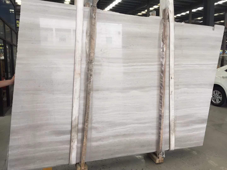 White Wooden Marble Slabs & Tiles