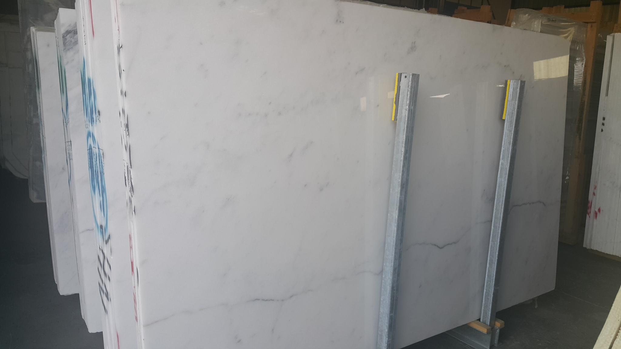 Bianco Ibiza White Marble Slab