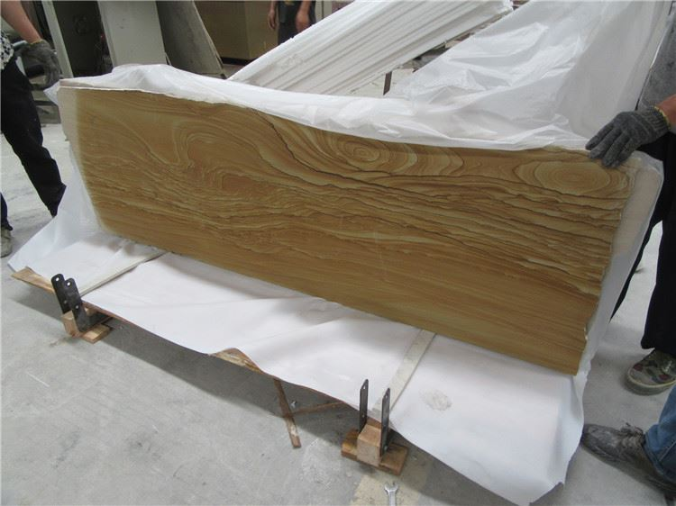 yellow wood vein sandstone
