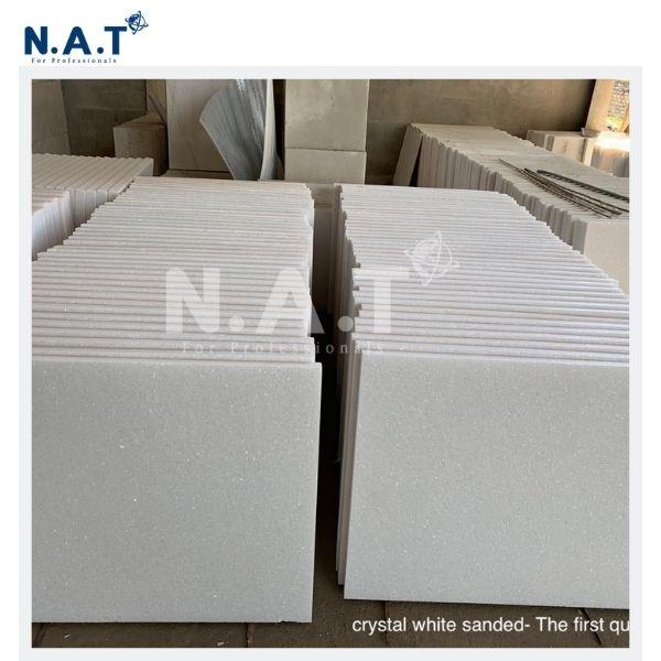 Viet Nam Snow white marble