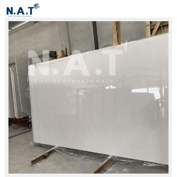 Viet Nam pure white marble slabs