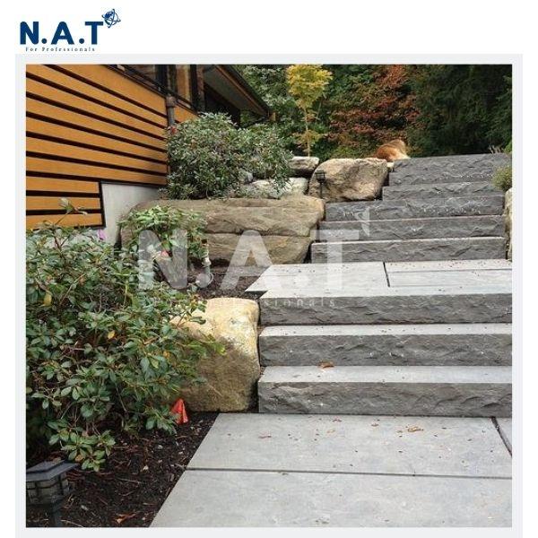 Viet Nam basalt stair
