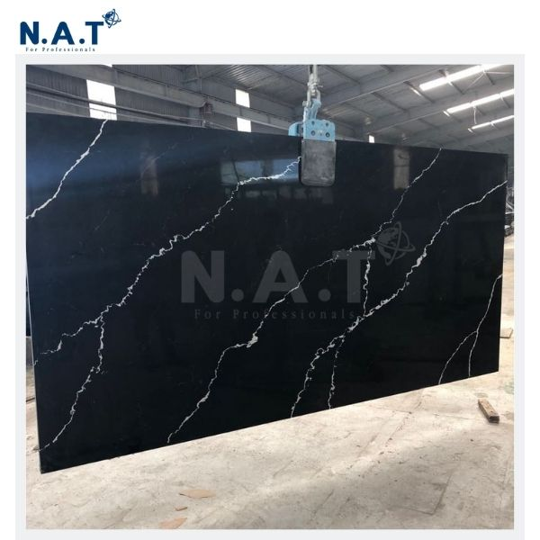 Vietnam black quartz countertop