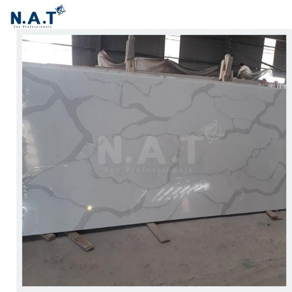 Vietnam Calacatta White Quartz Stone