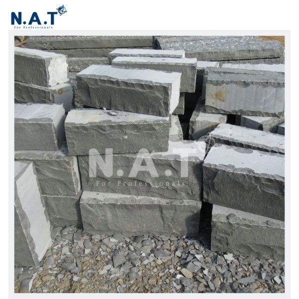 Viet Nam Basalt Brick Stone Wall