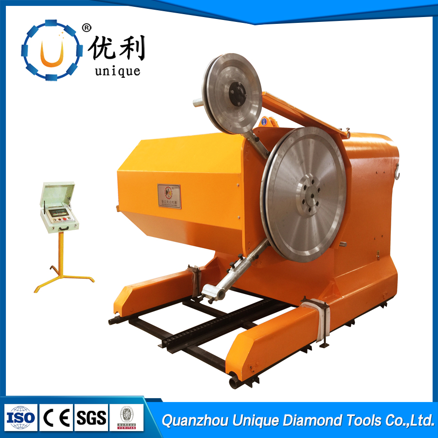 35-75KW-6P8P natural stone block diamond wire saw stone cutting machine