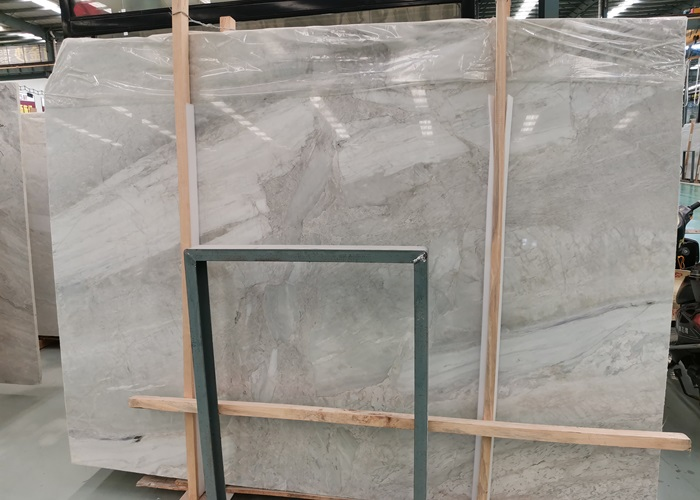China Yabo White Marble Slabs for Flooring