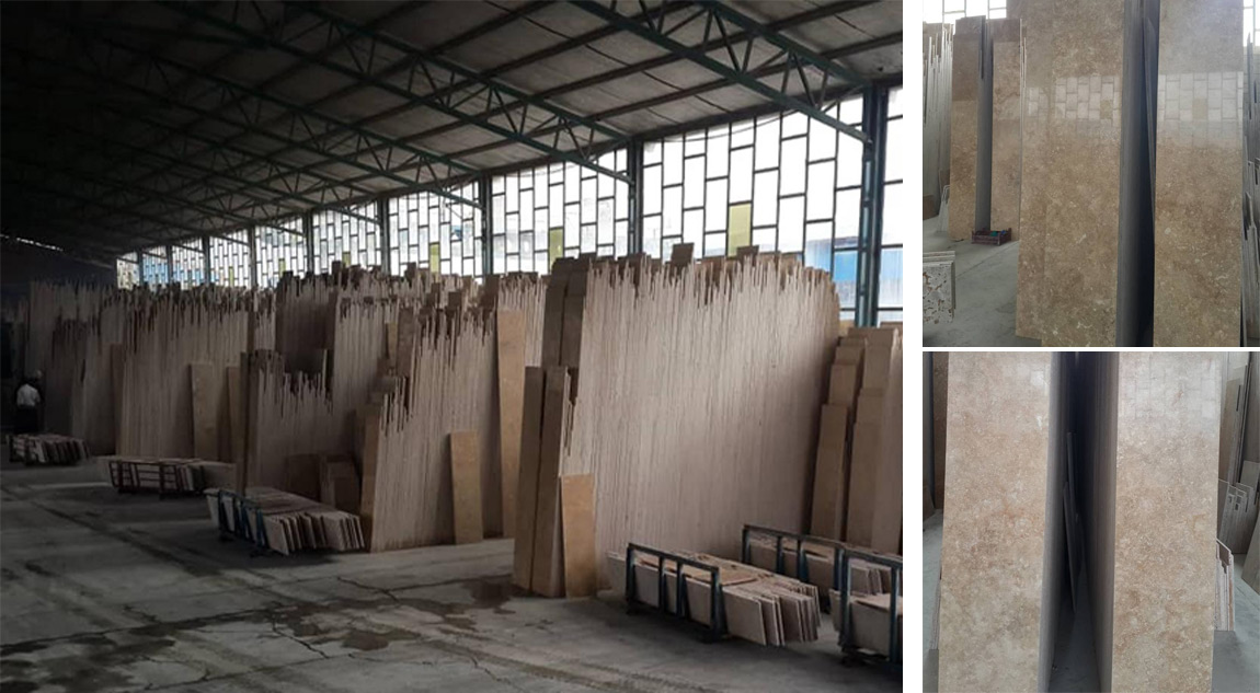 Beige Travertine from Iran Supplier