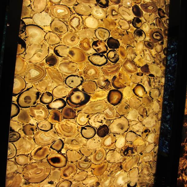 Yellow Agate Onyx Stone