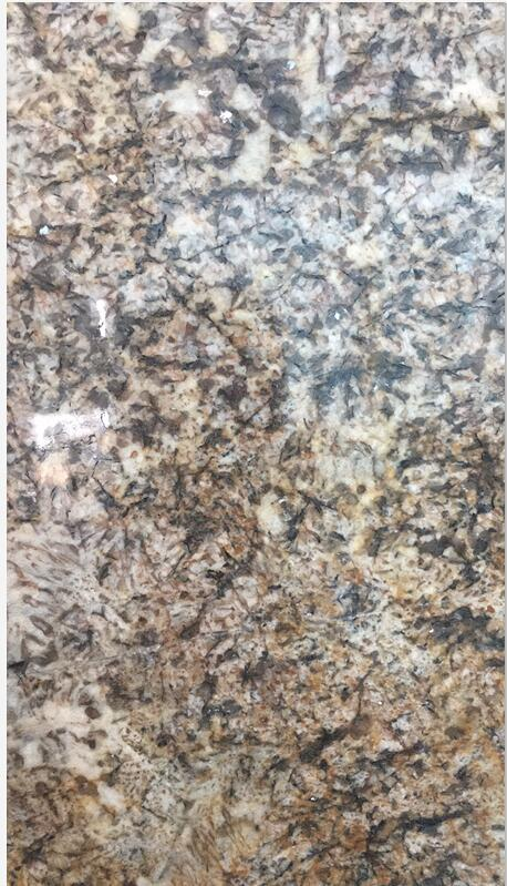 Galactic Gold  Granite Tiles & Slabs Nigeria Yellow Granite