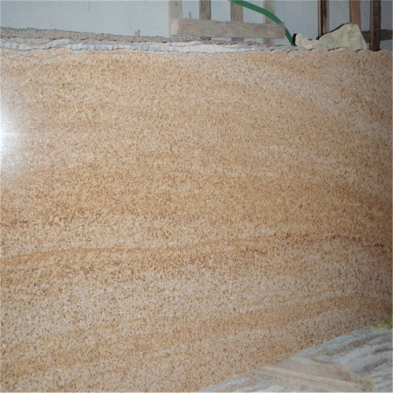 Yellow Polished Granite Slabs Chinese Granite Slabs