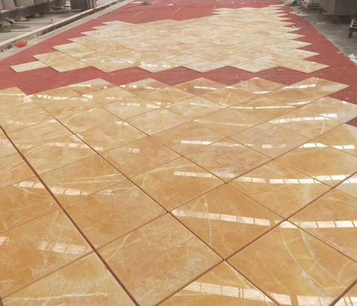 China Honey Yellow Onyx Tiles